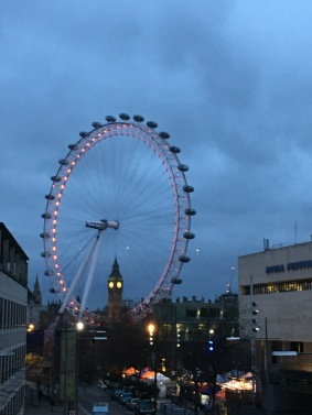The London Eye & Big Ben